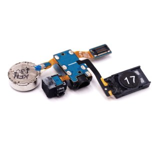 Samsung GT-I9100 GT I9100G Galaxy S2 GT-I9105P Galaxy S2 Plus Ohr Hörer Lautsprecher 3,5mm Audio Buchse Vibramotor Mikrofon Flex MODULE-RCV+MOT+MIC+E/JACK FPCBGT_I9100