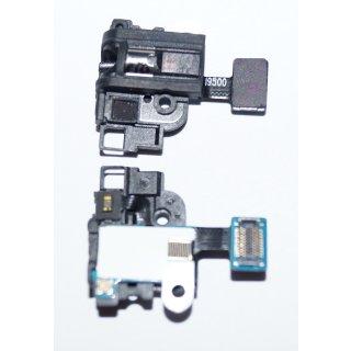 Samsung GT-I9500, GT-I9505 Galaxy S4 3.5 mm Audio Port, Headset Buchse, Kopfhörer Anschluss + Licht Sensor Flex