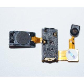 Samsung GT-S8000 JET Ohr Hörer Lautsprecher + 3,5 mm Audio Buchse + Mikrofon Flex, ETC-RCV+MIC-EAR JACK