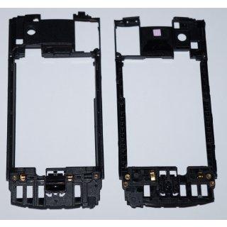 Samsung GT-S8500 WAVE Mittelgehäuse, Rahmen + Akkudeckel-Verschluss, Middel Frame