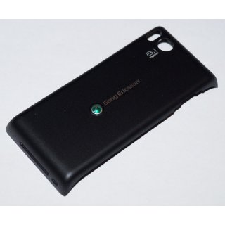 Sony Ericsson Aino U10i Akkudeckel Gehäuse-Rückseite Backcover Schwarz