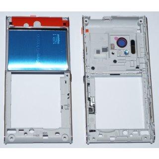 Sony Ericsson U1i Satio Back Cover, Kamera Cover Silber