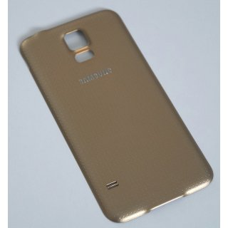Samsung SM-G900F Galaxy S5 Akkudeckel, Battery Cover, Gold