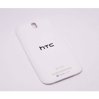 HTC One SV LTE (C525, C525u) Akkudeckel, Battery Cover, Weiss, white