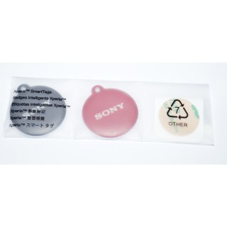 Sony Xperia Smart Tags , NFC Chips (2 Stück Set)