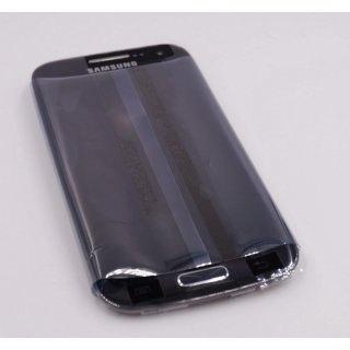 Samsung GT-I9192 Galaxy S4 Mini DuoS, I9195 Galaxy S4 Mini Komplett Front + LCD + Touchscreen, Schwarz, Black Edition