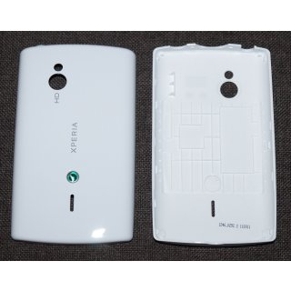 Sony Ericsson Xperia Mini Pro SK17i Akkudeckel, Battery Cover, Weiss, white