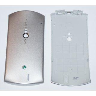 Sony Ericsson Xperia Neo MT15i, Xperia Neo V MT11i Akkudeckel, Battery Cover, Silber, silver