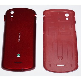 Sony Ericsson Xperia Pro MK16i Akkudeckel, Battery Cover, Rot, red