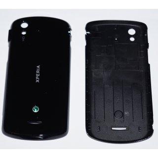 Sony Ericsson Xperia Pro MK16i Akkudeckel, Battery Cover, Schwarz, black