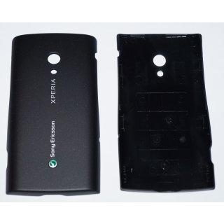 Sony Ericsson Xperia X10i Akkudeckel, Battery Cover, Schwarz, sensous black