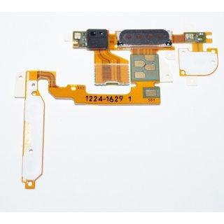 Sony Ericsson Xperia X10i Ohr Hörer Lautsprecher, Ear Speaker + Einschalter + Seitentasten + Lichtsensor Flex