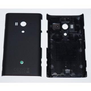 Sony Xperia Arco S LT26w Akkudeckel, Battery Cover, Schwarz, black