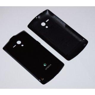 Sony Xperia Neo L MT25i Akkudeckel, Battery Cover, Schwarz, black