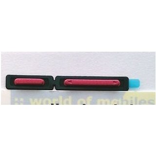 Sony Xperia P LT22i Einschalter Taste + Lautstärke Taste, pink
