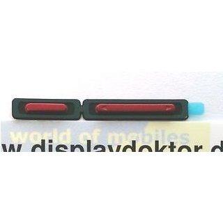 Sony Xperia P LT22i Einschalter Taste + Lautstärke Taste, Rot