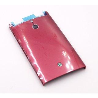 Sony Xperia P LT22i Gehäuse Rückseite, Back Cover, pink