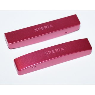Sony Xperia P LT22i untere Abdeckung, Bottom Cover, Pink