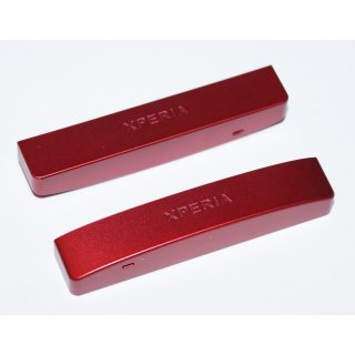 Sony Xperia P LT22i untere Abdeckung Cover Rot