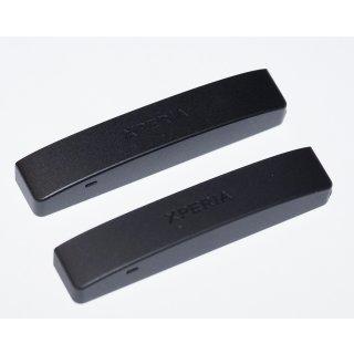 Sony Xperia P LT22i untere Abdeckung, Bottom Cover, Schwarz, black