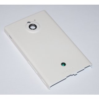 Sony Xperia Sola MT27i Akkudeckel, Battery Cover, Weiss, white