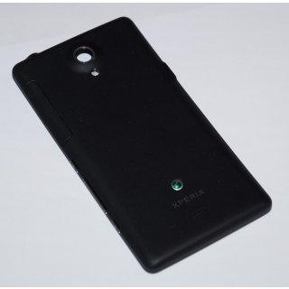 Sony Xperia T LT30p Gehäuse, Back Cover, Housing + Seitentasten + Sim Cover, Schwarz, black