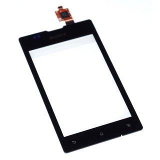 Sony Xperia E C1504 C1505, Xperia E-Dual C1604 C1605 Touchscreen, Touchpanel, Schwarz, black