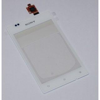 Sony Xperia E C1504 C1505 Xperia E-Dual C1604 C1605 Touchscreen Touchpanel Weiss