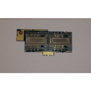 Sony Xperia E DUAL C1604 C15605 Simkartenleser Sim Reader Flex