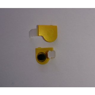 Sony Xperia Go ST27i Audio Abdeckung inklusive Gummidichtung, Cover, Gelb, yellow