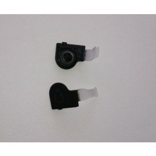 Sony Xperia Go ST27i Audio Abdeckung inklusive Gummidichtung, Cover, Schwarz, black