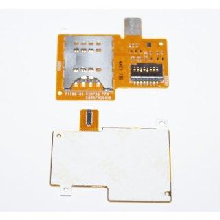 Sony Xperia Miro ST23i Sim + Micro SD Kartenleser, Card Reader Flex