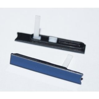 Sony Xperia Z LT36 (C6602, C6603, C6606, C6616) Micro Sim Slot Abdeckung, Cover, Schwarz, black