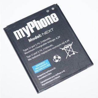 myPhone Next Akku, Battery, Li-Ion, 2100 mAh