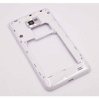 Samsung GT-I9100 Galaxy S2 II Backcover, Gehäuse, Weiss, white