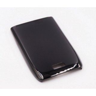 Nokia E51 Akkudeckel, Battery Cover, Schwarz, black steel