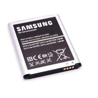 Samsung GT-I9300 Galaxy S3 GT-I9301 Galaxy S3 Neo GT-I9305 Galaxy S3 LTE Ersatz-Akku Batterie Li-Ion 2300 mAh EB-L1G6LLU