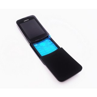 Nokia 8110 4G (TA-1048) LCD, Display, Anzeige, Bildschirm + Touchscreen, Touch Panel + Slide Schlitten, Schwarz, black