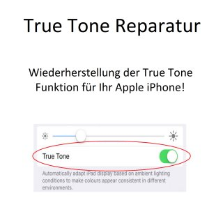 True Tone function repair for Apple iPhone