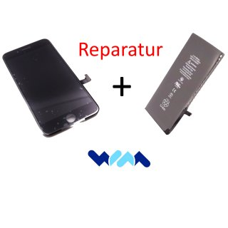 Apple iPhone display / touchscreen + battery repair