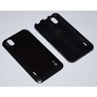 LG P970 Optimus Black Akkudeckel, Battery Cover, Schwarz, black