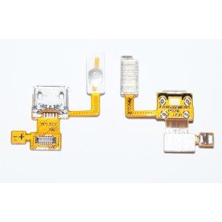 LG P970 Optimus Black Micro USB Ladebuchse + Einschalter Power Button Key Flex